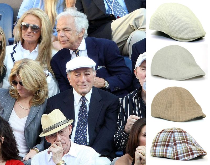View ivy hats like Tony Bennett's hat