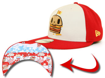 TOKIDOKI Death Burger New Era Fitted