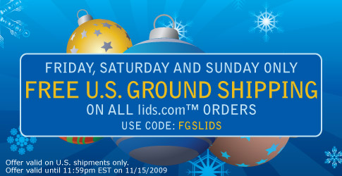 Free U.S. Ground Shipping, Use code FGSLIDS.