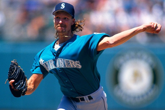 Randy Johnson as a Mariner