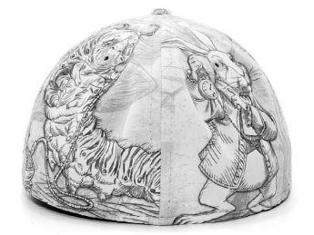 Alice in Wonderland Hat_All Over back