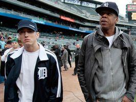 Jayz Eminem (Image Credit: Reuters/Rebecca Cook/Landov)