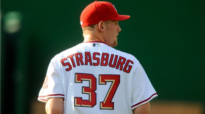 Stephen Strasburg's Major League debut