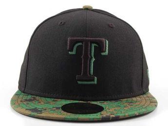 Texas Rangers MLB Digitone hat