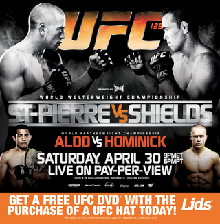 Ultimate Fighting Championship 129 event