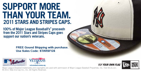 MLB 2011 Stars & Stripes at LIDS