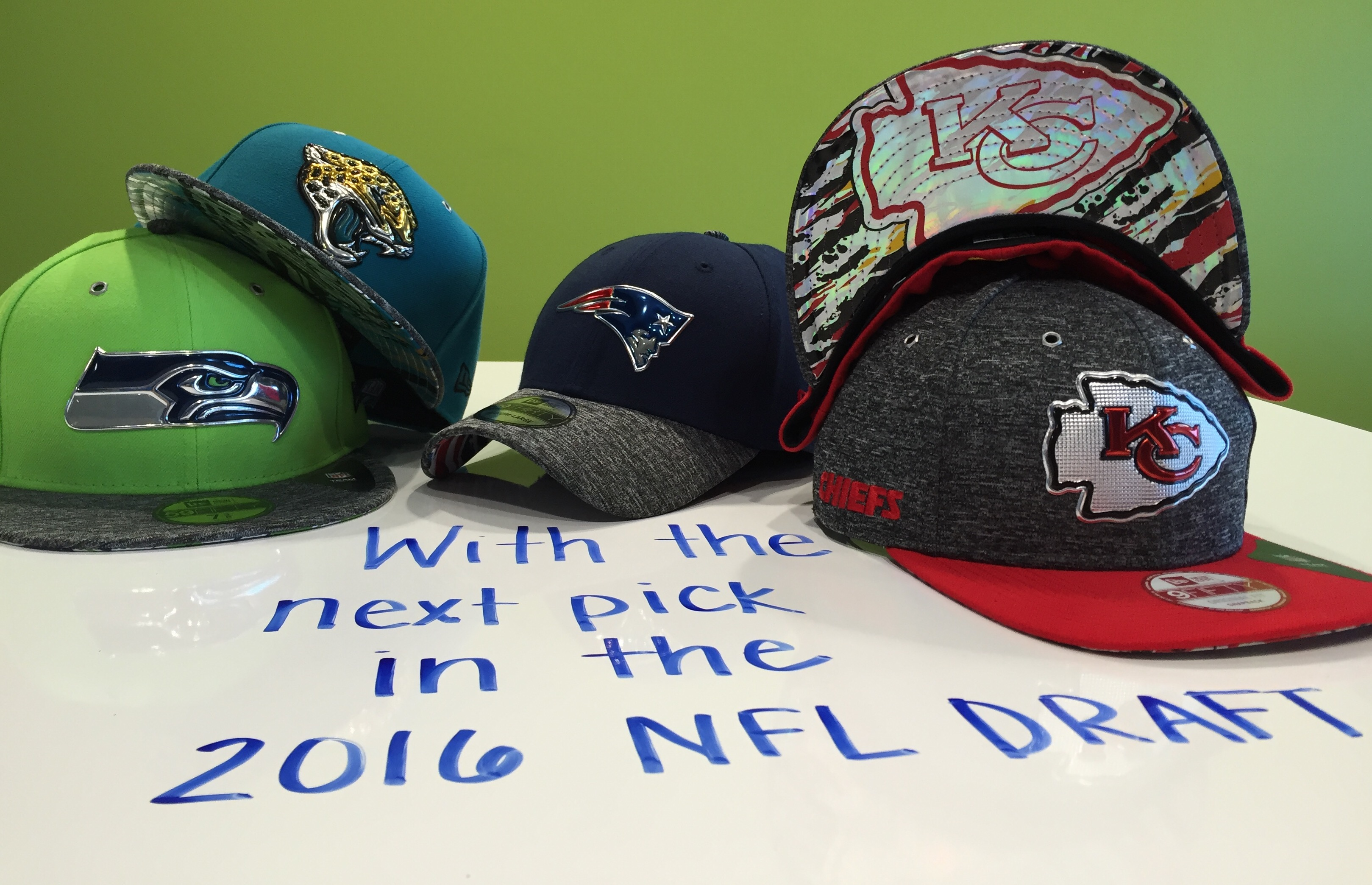 Hump Day Must Haves  2016 NFL Draft Hats Are Here!  20b58e6dc99