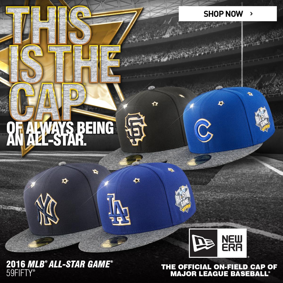 JUST LAUNCHED  MLB x New Era All Star Game Caps  fbd4a7e1a4