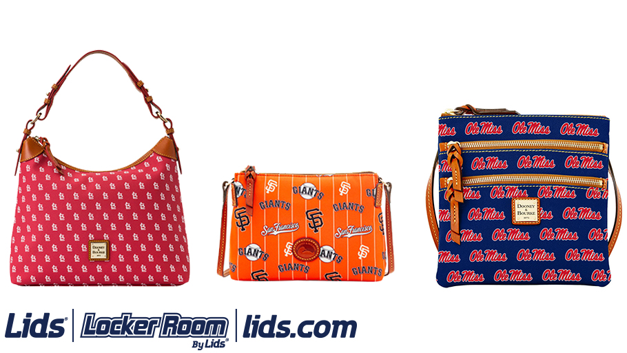 c50619b2a046 Let your love of baseball and fashion team up with bags like the New York  Yankees Dooney   Bourke Crossbody Purse
