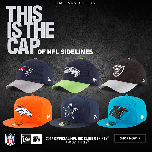 JUST LAUNCHED  2016 Official NFL Sideline Cap  ed1731e3367