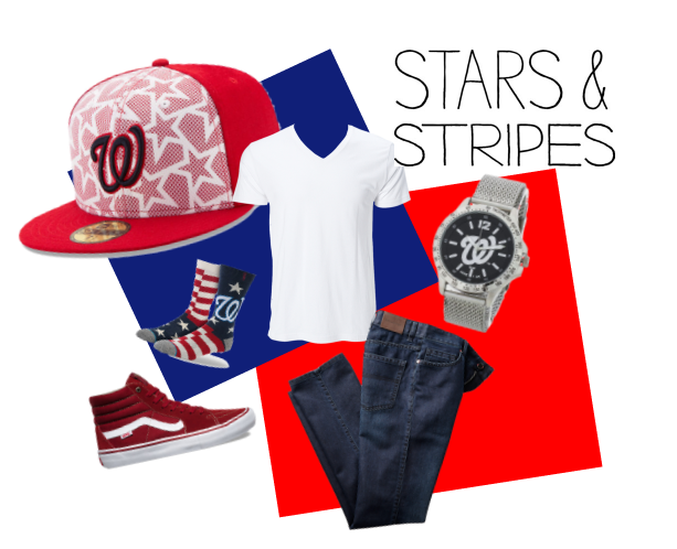 Stars and Stripes Men
