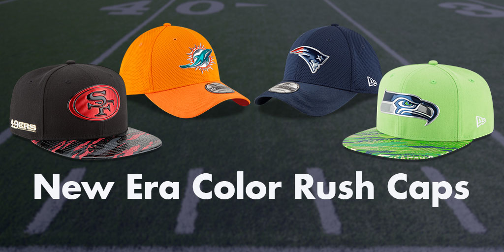 Just Launched  New Era NFL Color Rush Hats  f8a21ae07