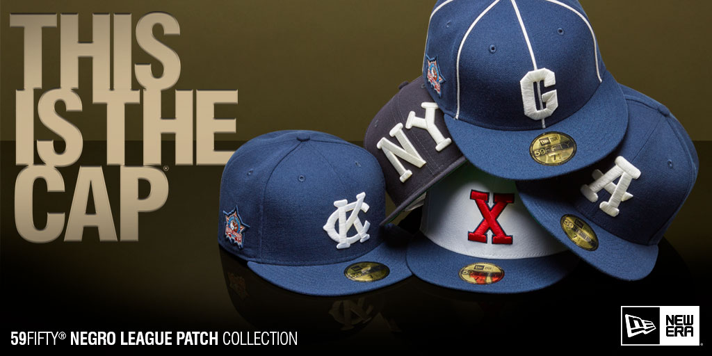 31537104af2f3 New Era  LidsExclusive Negro League Patch Collection