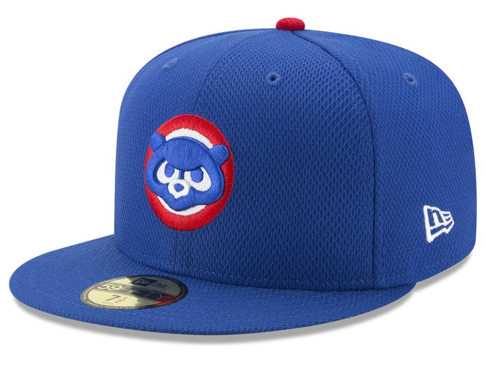 d113e169742 Chicago Cubs New Era MLB Batting Practice Diamond Era 59FIFTY Cap