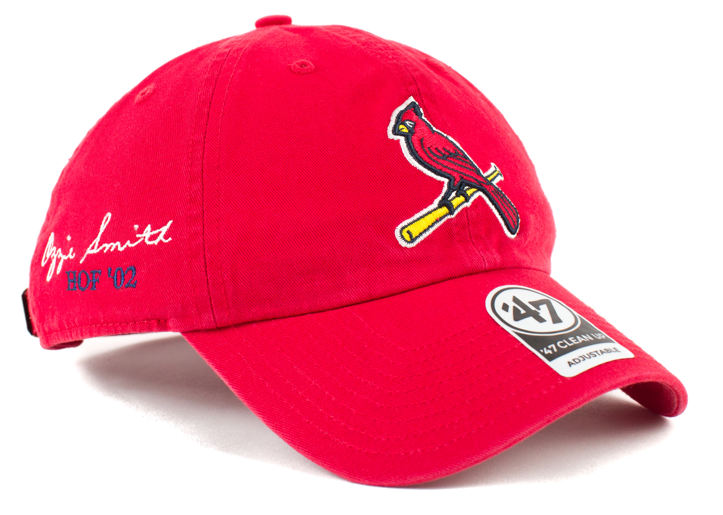 Ozzie Smith Mlb Custom Hat. Mlb Hall Of Fame Athlete Embroidery Now  Available Lids ed3994eba60a