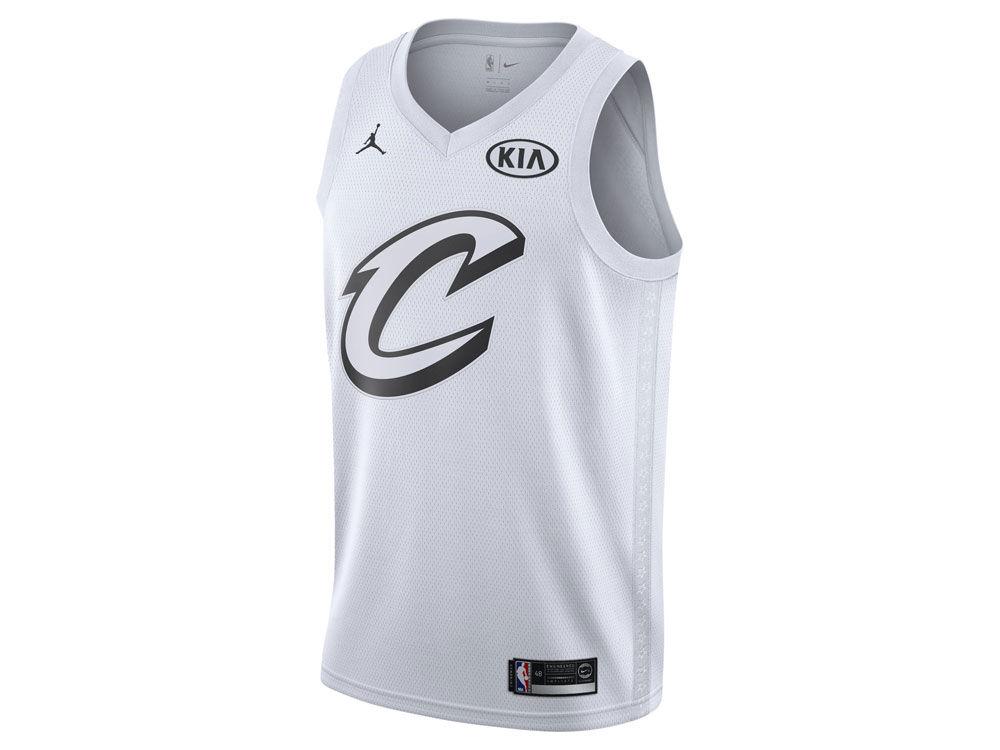 Cleveland Cavaliers LeBron James Nike 2018 NBA Men s All-Star Swingman  Jersey ... 0a7381446
