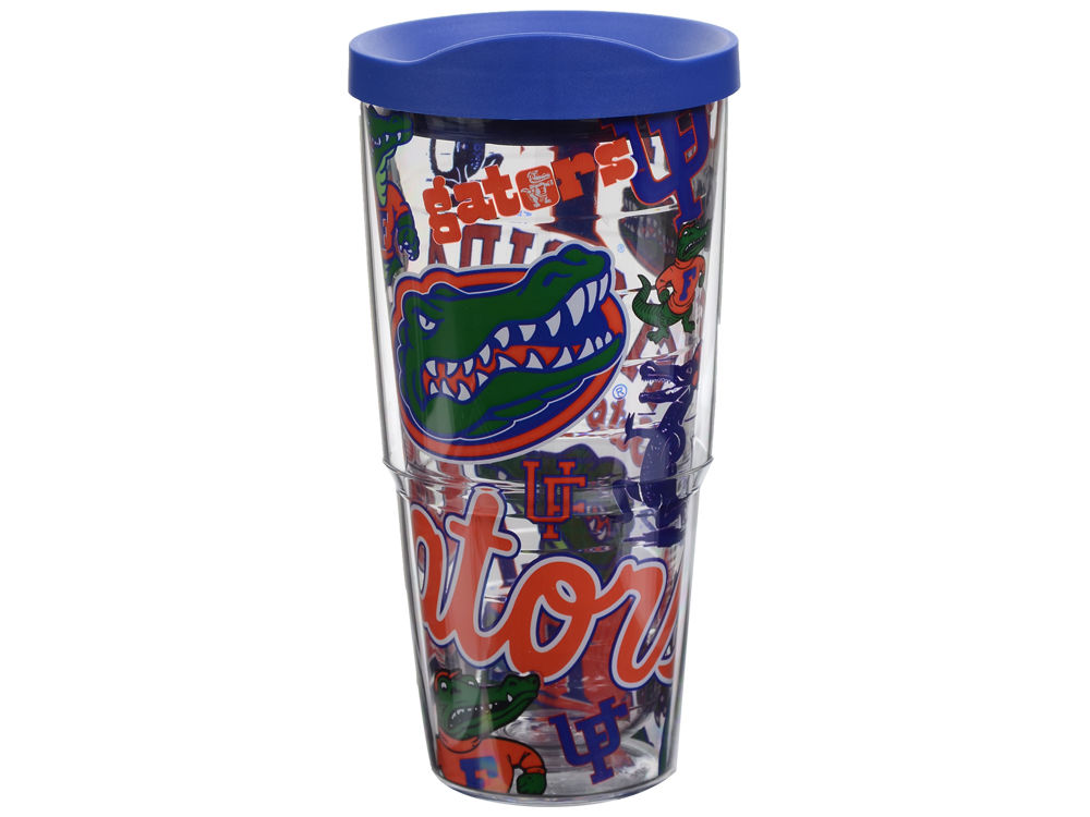 Florida Gators Tervis 24 oz All Over Colossal Wrap Tumbler