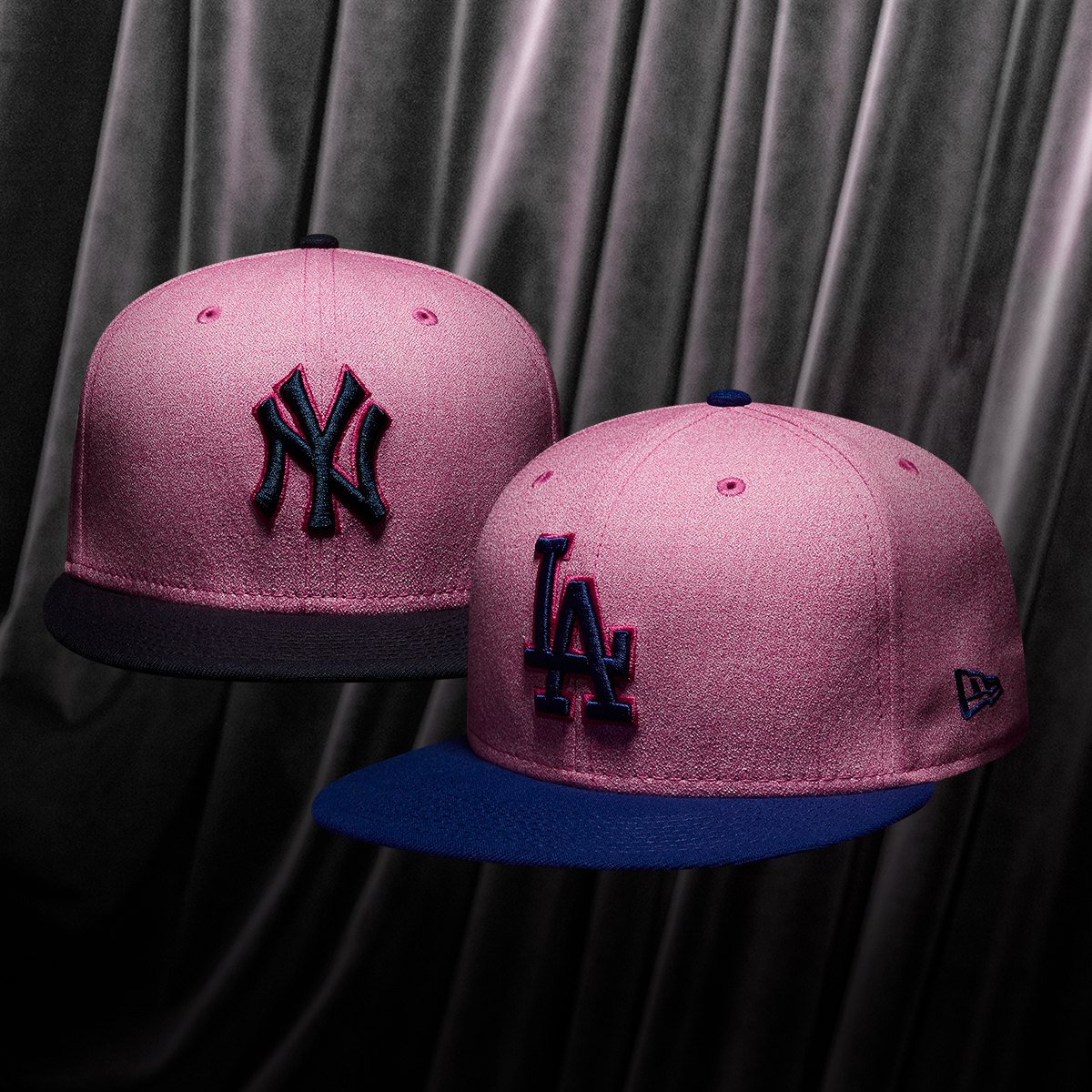 fce3db07f0cb0c real los angeles dodgers new era 2018 mlb mothers day 59fifty cap ...