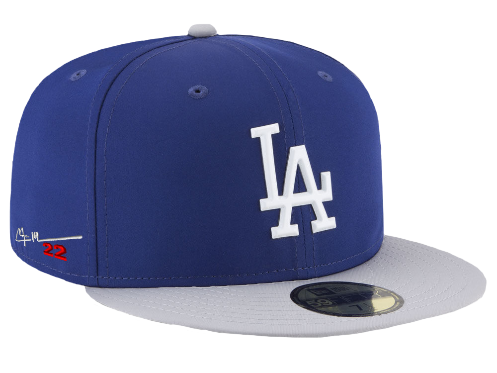 Clayton kershaw custom hat