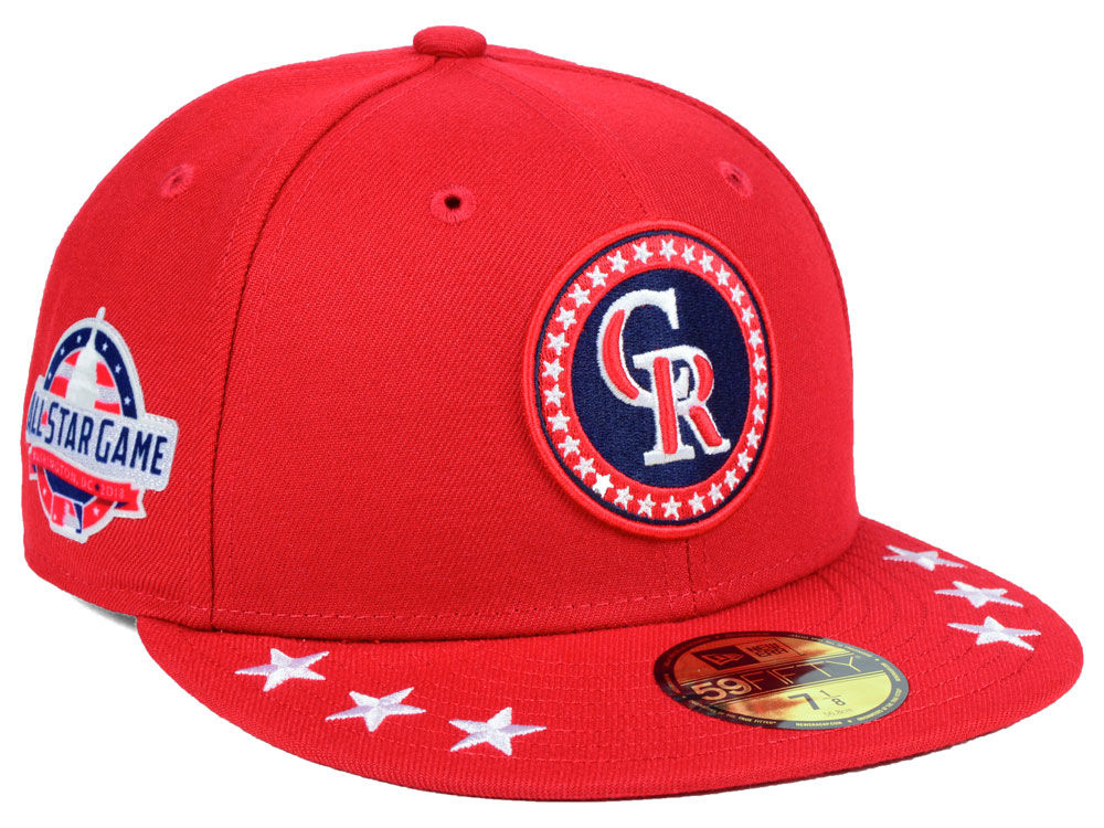 Colorado Rockies 2018 All Star Workout Day Cap