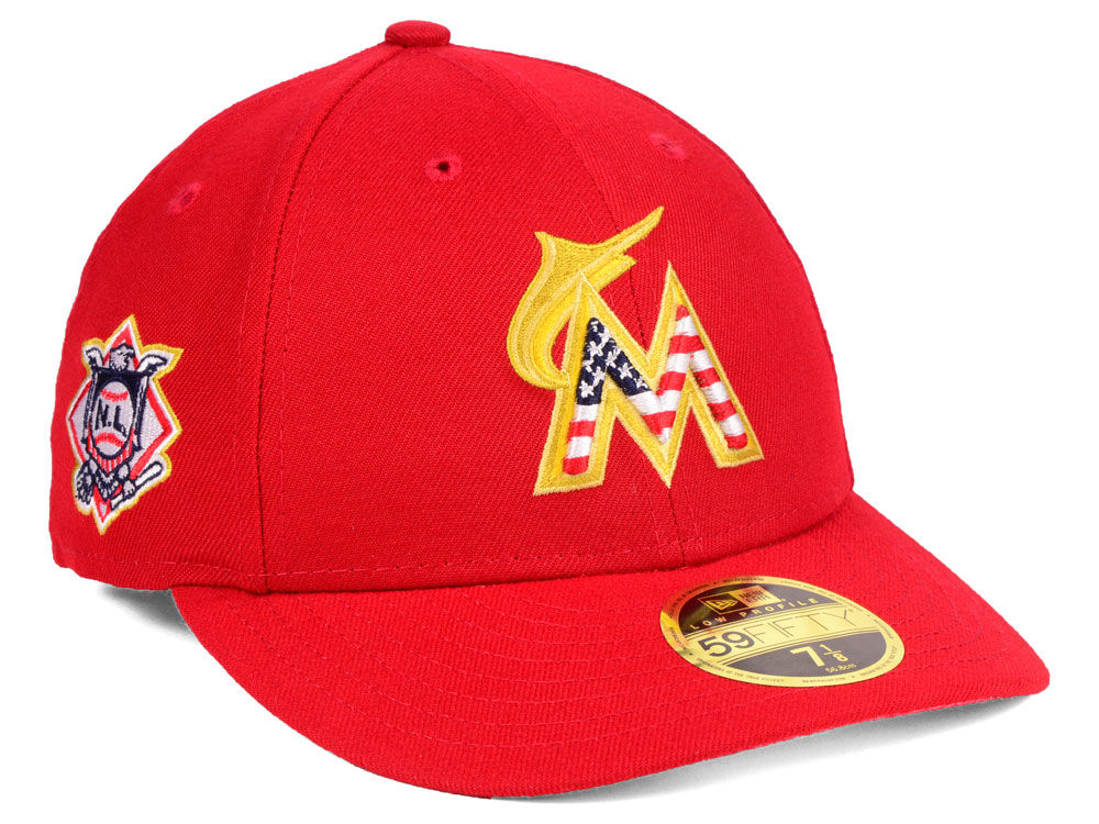 Miami Marlins 4th of july hat