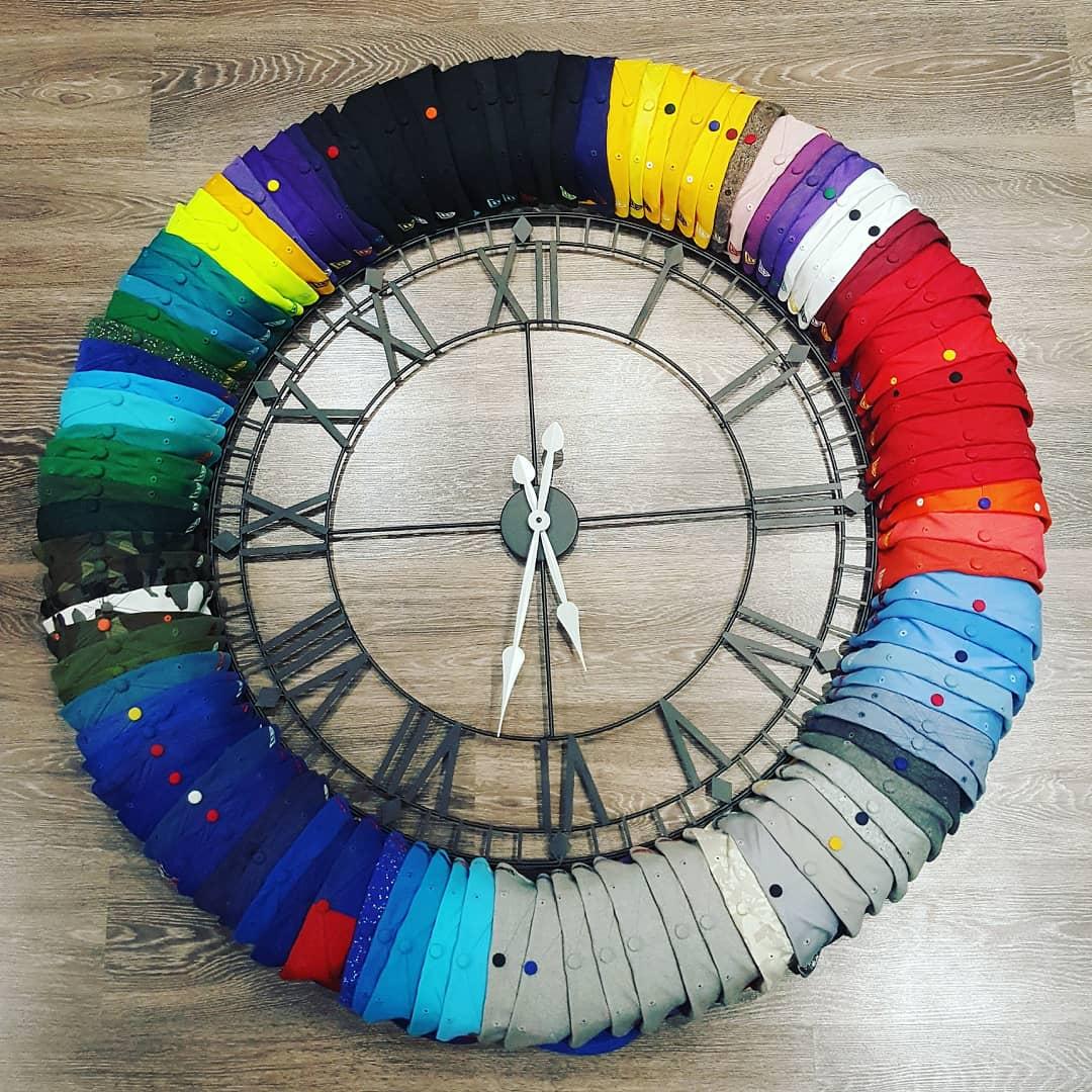 hat clock