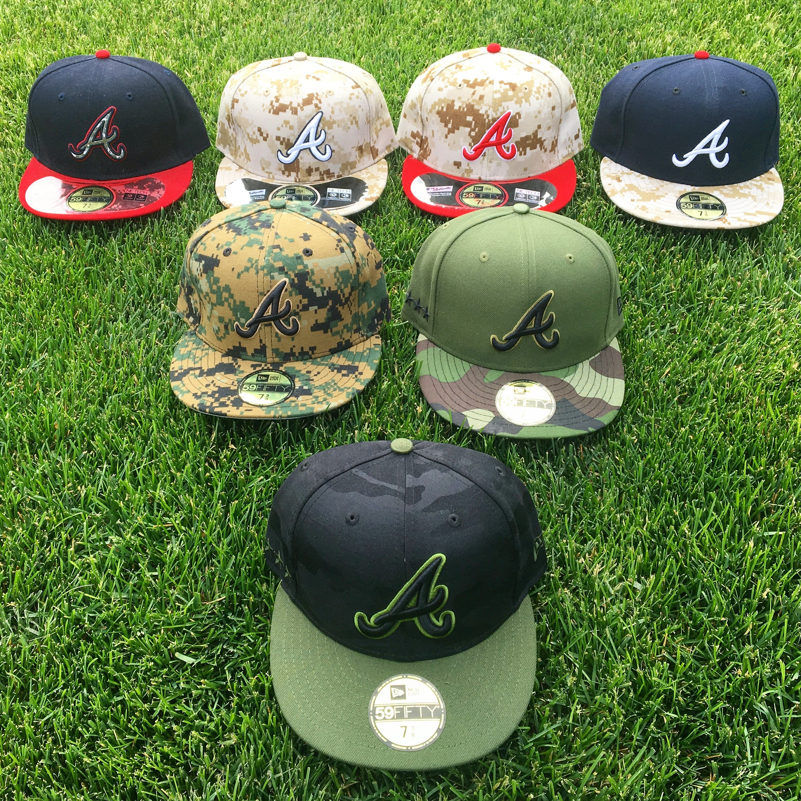 Atlanta Braves Memorial Day Caps