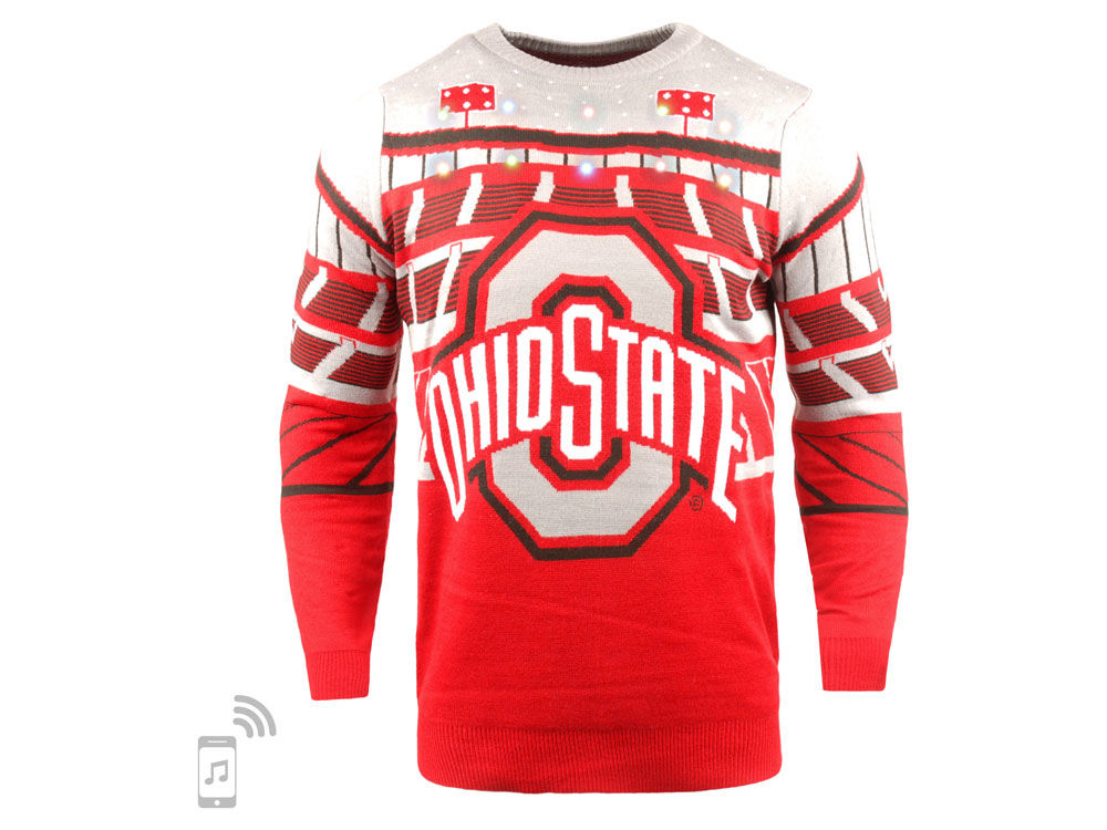 Ohio State Bluetooth Sweater
