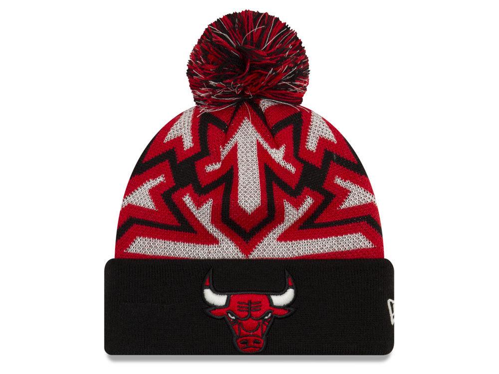 chicago bulls knit cap