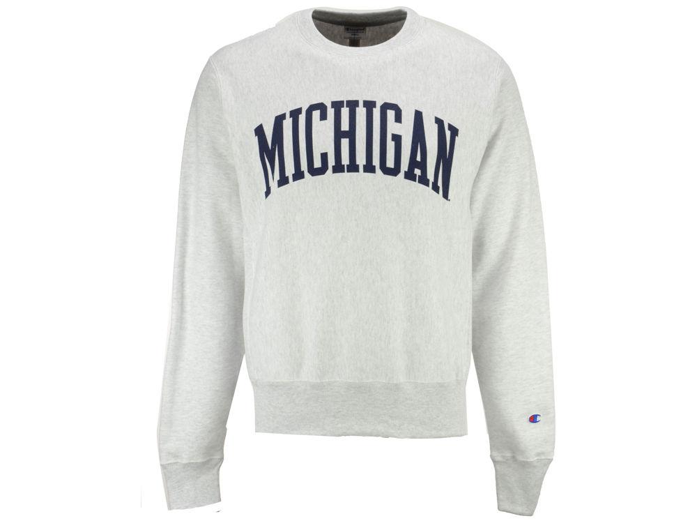 Michigan Champion Crew Sweatshirt