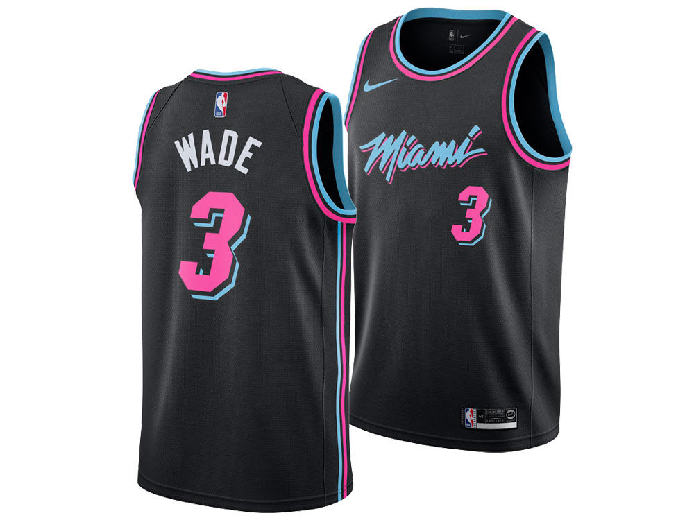 Dwyane Wade Miami Heat City Edition Jersey