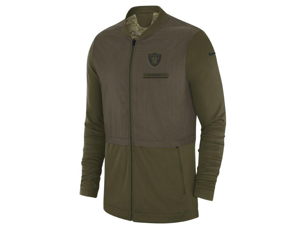 Oakland Raiders Salute To Service Jacket