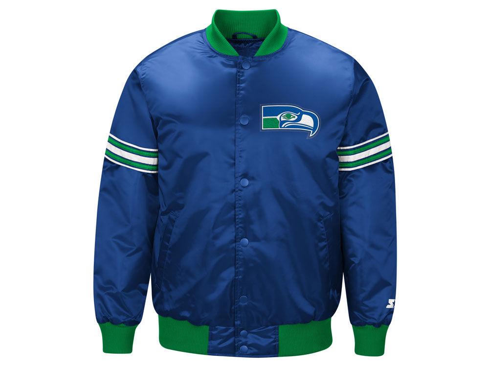 Seattle Seahawks Satin Starter Jacket