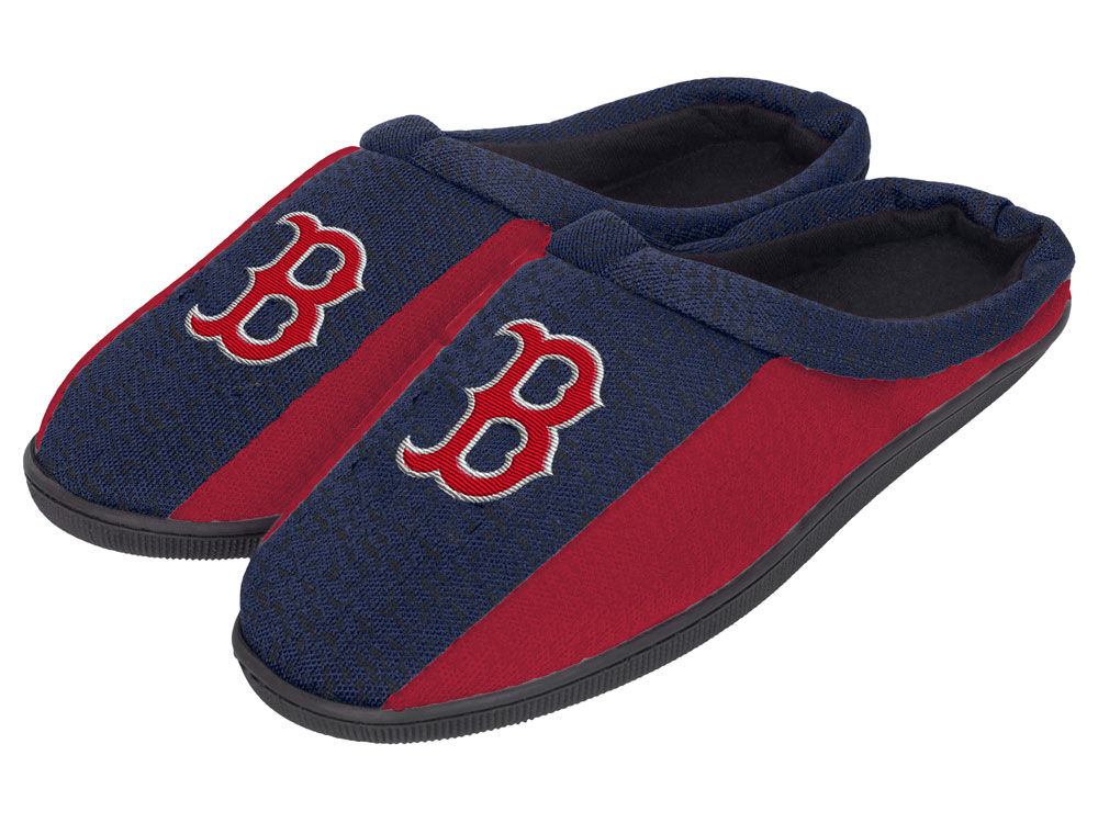 Boston Red Sox slippers