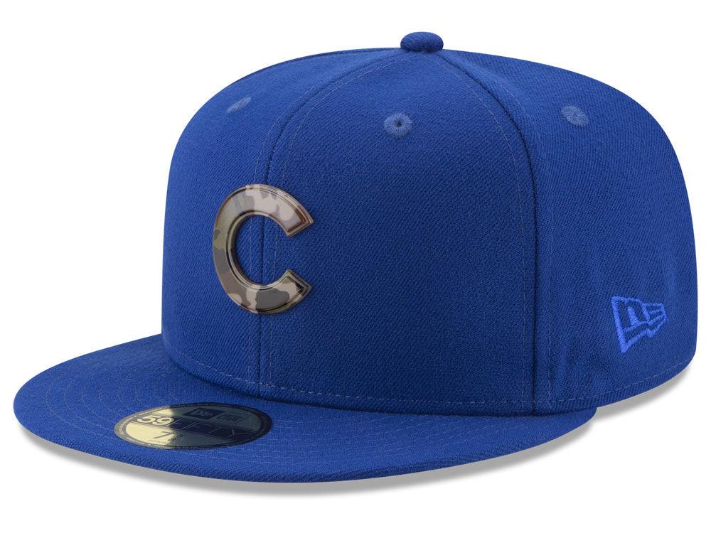 Chicago Cubs New Era Camo hat