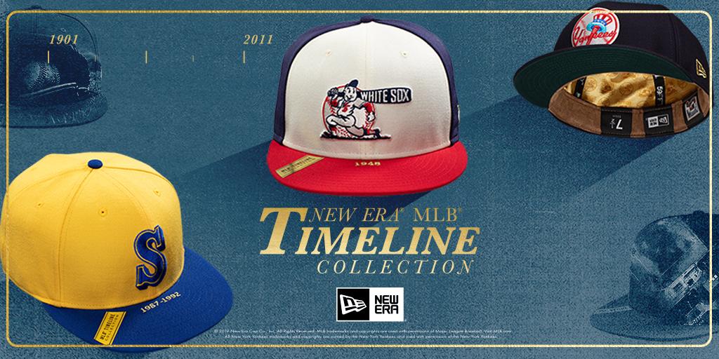 88d67b6d4 New Era MLB Timeline Collection | Lids® Blog