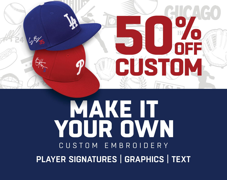 Lids Custom Fitted Hats